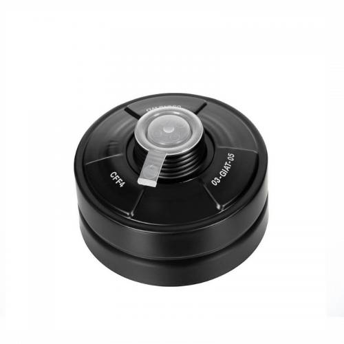 Gasmaskenfilter 40 mm - Schwarz
