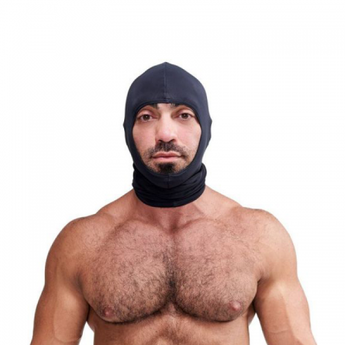 Mister B Lycra Ninja Hood Black