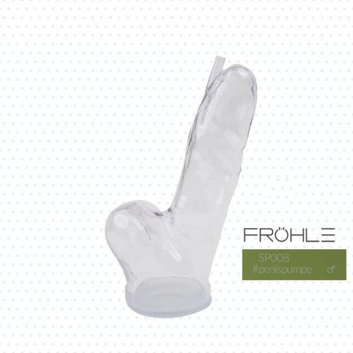 FRÖHLE SP008 Realistischer Peniszylinder Large