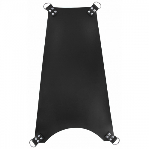 MR SLING Leather Trapeze Sling Black